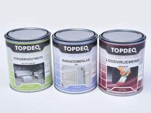Topdeq: nieuwe en moderne lijn ready mix en basisproducten